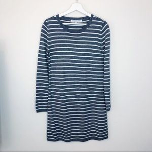 Cupcakes and Cashmere Striped LS Sweater Dress M